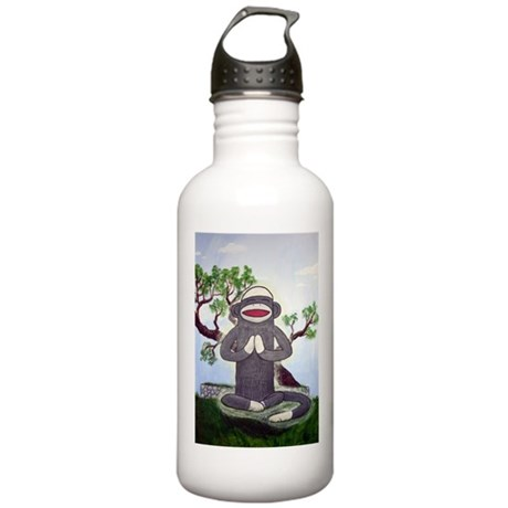 Sock Monkey Nirvana Stainless Water Bottle 1.0L
