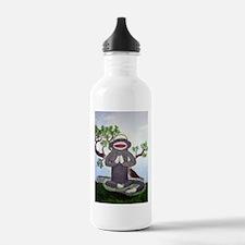 Sock Monkey Nirvana Water Bottle