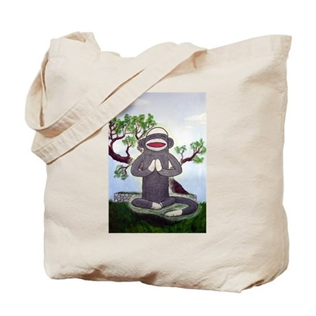 Sock Monkey Nirvana Tote Bag
