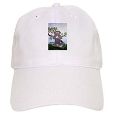 Sock Monkey Nirvana Baseball Cap