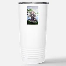 Sock Monkey Nirvana Travel Mug
