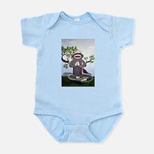 Sock Monkey Nirvana Infant Bodysuit