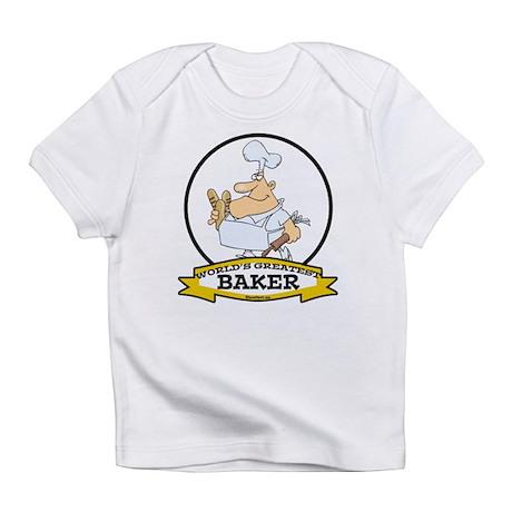 WORLDS GREATEST BAKER CARTOON Infant T-Shirt