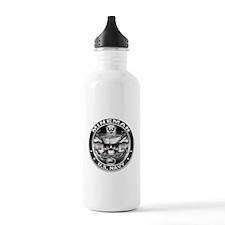 USN Mineman Skull MN Dont Tre Water Bottle