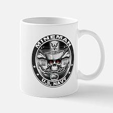 USN Mineman Skull MN Dont Tre Mug