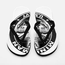 USN Mineman Skull MN Dont Tre Flip Flops