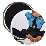 Laid Back Policeman Magnet