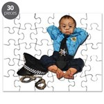 Laid Back Policeman Puzzle