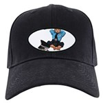Laid Back Policeman Black Cap