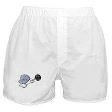 Jailbird Handcuffs Ball Chain Boxer Shorts