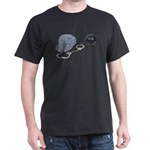 Jailbird Handcuffs Ball Chain Dark T-Shirt