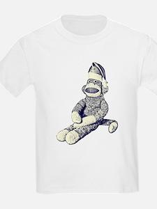 Grunge Christmas SockMonkey T-Shirt