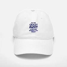 Crazy Aunt Baseball Baseball Cap