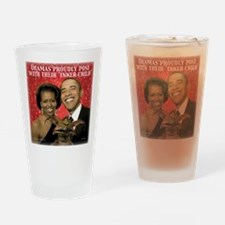 Obama's Inner Child Drinking Glass