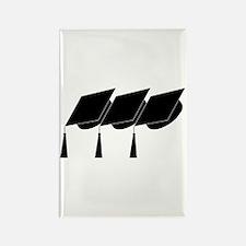 Graduation Caps! Rectangle Magnet (100 pack)