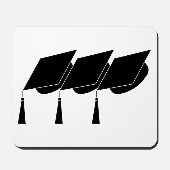 Graduation Caps! Mousepad