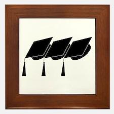 Graduation Caps! Framed Tile