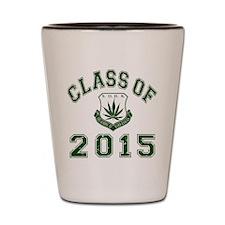 2015 School Of Hard Knocks Shot Glass