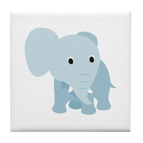 Sweet elephant Tile Coaster
