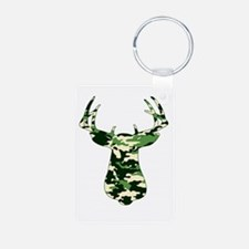 BUCK IN CAMO Keychains