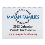 Wall Calendar: Programs Provided by Mayan Families