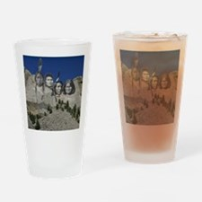 Native Mt. Rushmore Drinking Glass