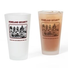 Homeland Security Native Pers Drinking Glass