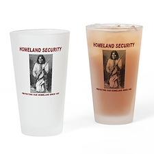 Geronimo Homeland Security Drinking Glass