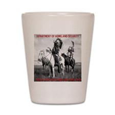 NDN Warriors Homeland Securit Shot Glass