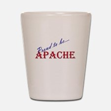 Apache Shot Glass