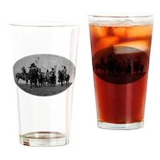 Atsina Warriors (Gros Ventre) Drinking Glass
