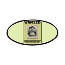 Columbus Wanted Poster Patches