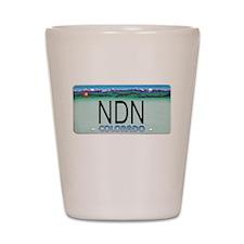 Colorado NDN Shot Glass