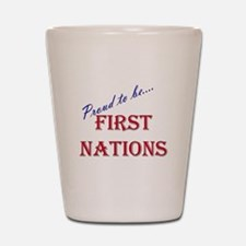 First Nations Pride Shot Glass