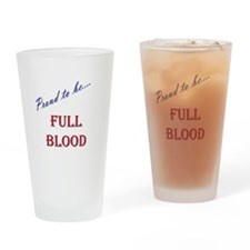 Full Blood Drinking Glass
