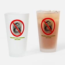 Columbus Not a Hero Drinking Glass