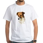 Jack Russell White T-Shirt