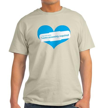 Blue Heart Contemporary Light T-Shirt