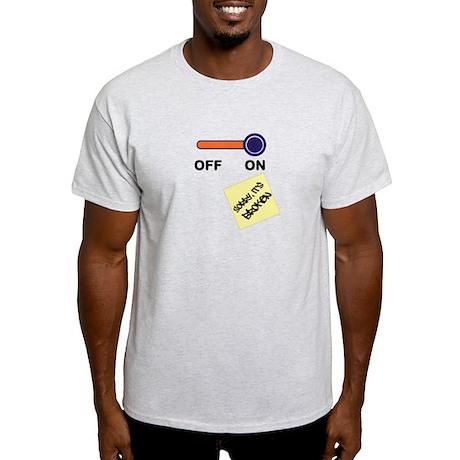 Broken Off-Switch Light T-Shirt