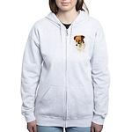 Jack Russell Women's Zip Hoodie