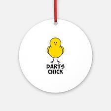Darts Chick Ornament (Round)
