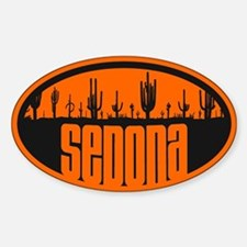 Sedona AZ Flag Decal