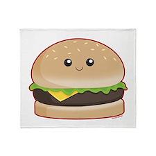 Hamburger Throw Blanket
