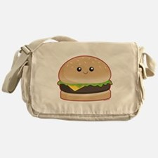 Hamburger Messenger Bag