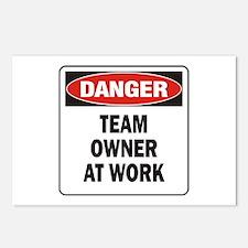 Team Owner Postcards (Package of 8)