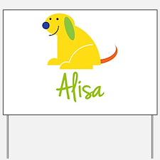 Alisa Loves Puppies Yard Sign