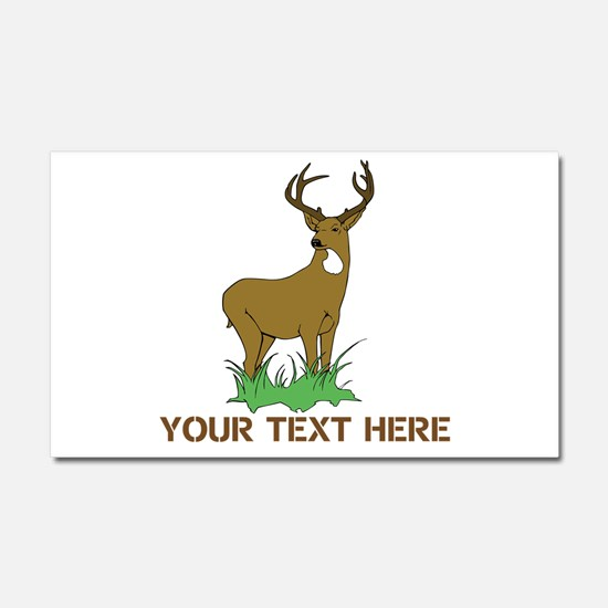 BIG BUCK Car Magnet 20 x 12