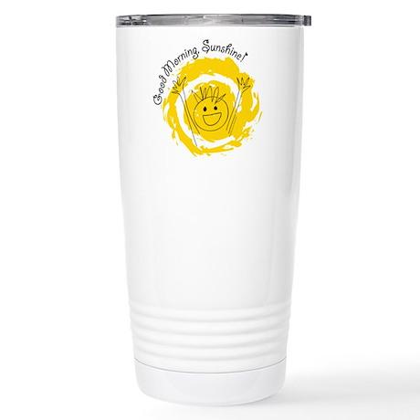 Good Morning Sunshine! Stainless Steel Travel Mug