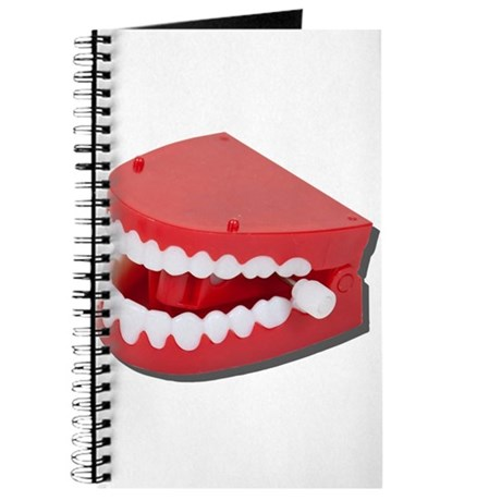 Fake Chattering Teeth Journal