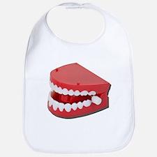 Fake Chattering Teeth Bib